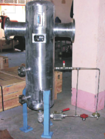 Gas Scrubber (Knock Out Drums)