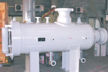 Horizontal Dry gas Filter (FPFILH)